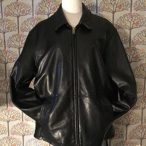 Marc New York/Andrew Marc Black Leather Jacket